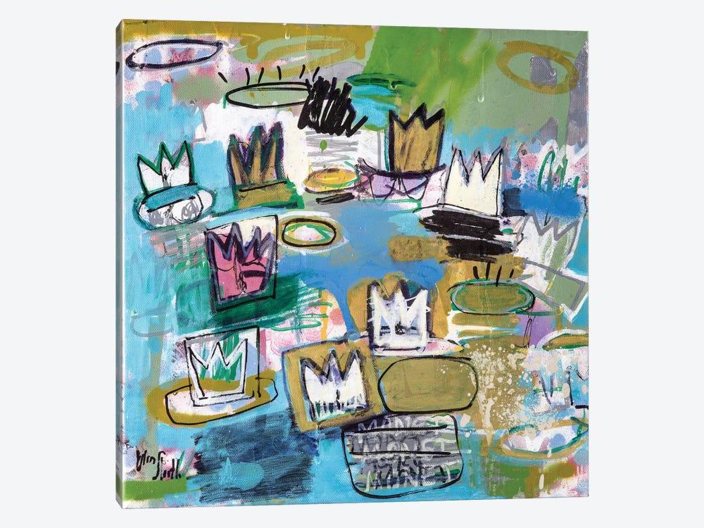 Regal de Nymphéas  (No. 18) by Wayne Sleeth 1-piece Canvas Print