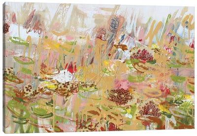 Giverny Au Printemps (Spring) Canvas Art Print
