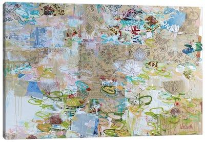 Monet Monet Monet, Detente Au Jardin Canvas Art Print