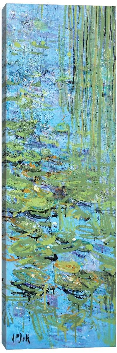 Monet Monet Monet Gilt Canvas Art Print