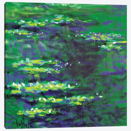 Giverny Study N°2 Canvas Print #WSL170} by Wayne Sleeth Canvas Wall Art