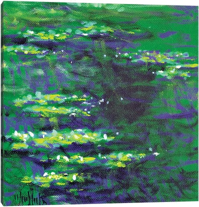 Giverny Study N°2 Canvas Art Print