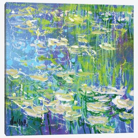 Giverny Study N°3 Canvas Print #WSL171} by Wayne Sleeth Canvas Wall Art