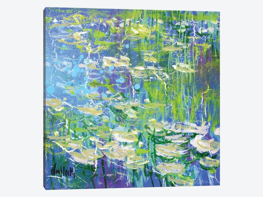 Giverny Study N°3 by Wayne Sleeth 1-piece Canvas Artwork