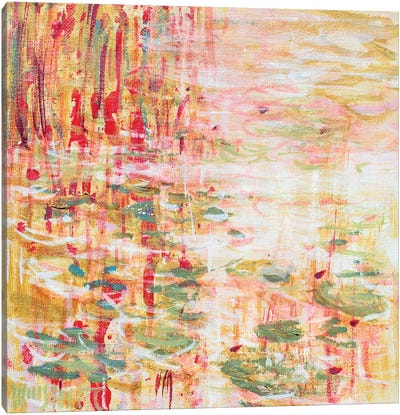 Giverny Study N°4 Canvas Art Print
