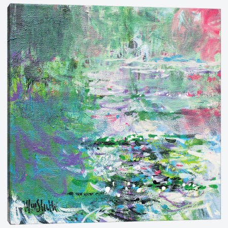 Giverny Study N°5 Canvas Print #WSL173} by Wayne Sleeth Canvas Artwork