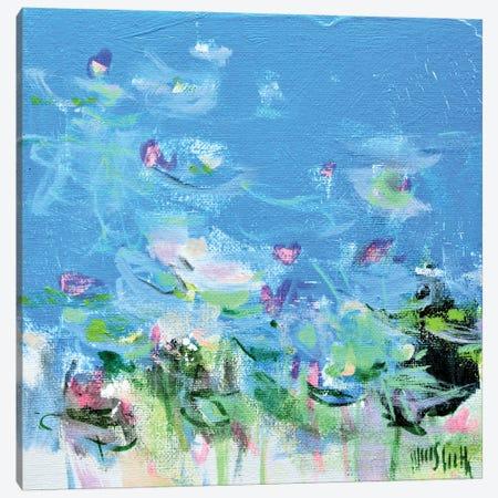 Giverny Study N°7 Canvas Print #WSL175} by Wayne Sleeth Canvas Art Print
