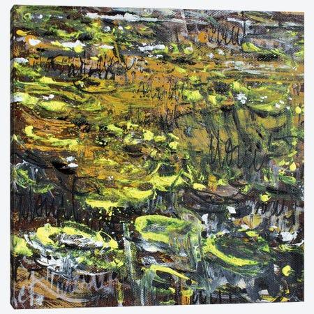 Giverny Study N°11 Canvas Print #WSL178} by Wayne Sleeth Canvas Artwork