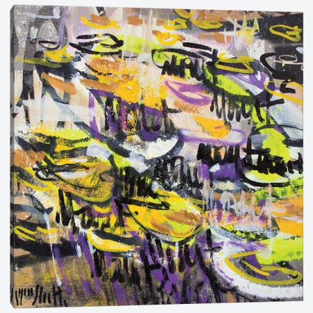 Giverny Study N° 17 Canvas Print #WSL187} by Wayne Sleeth Canvas Art