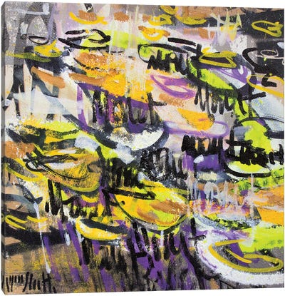 Giverny Study N° 17 Canvas Art Print