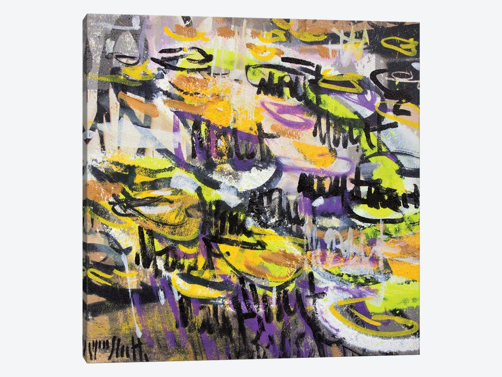 Giverny Study N° 17 by Wayne Sleeth 1-piece Canvas Art Print