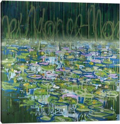 Monet Monet Monet Series: No. 17 Canvas Print #WSL18
