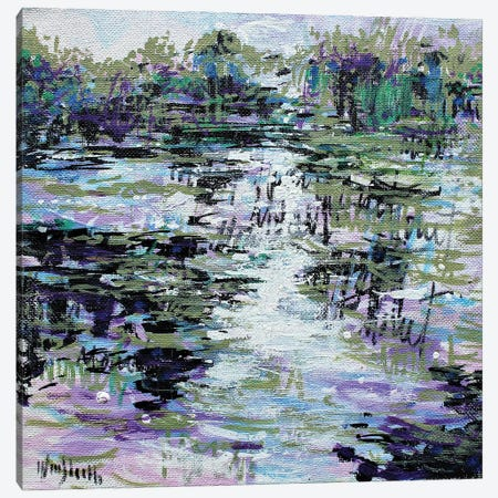 Giverny Study N° 20 Canvas Print #WSL190} by Wayne Sleeth Canvas Wall Art