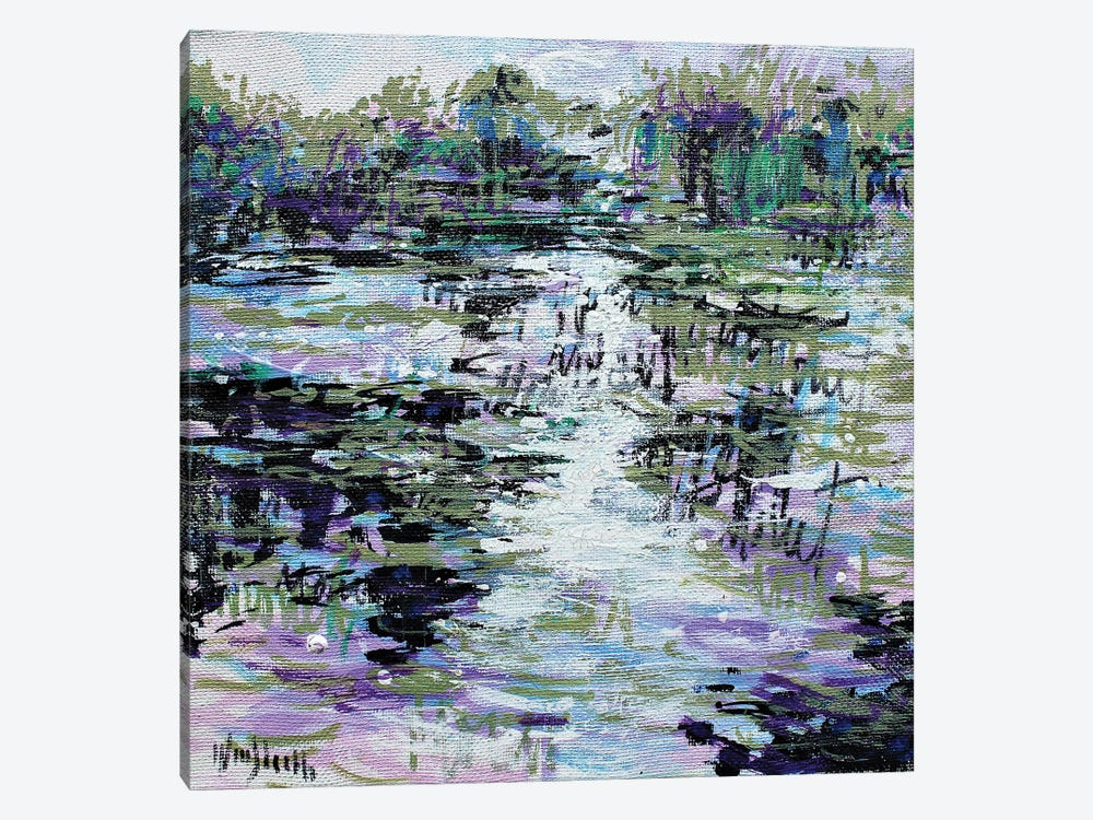 Giverny Study N° 20 by Wayne Sleeth 1-piece Canvas Art Print