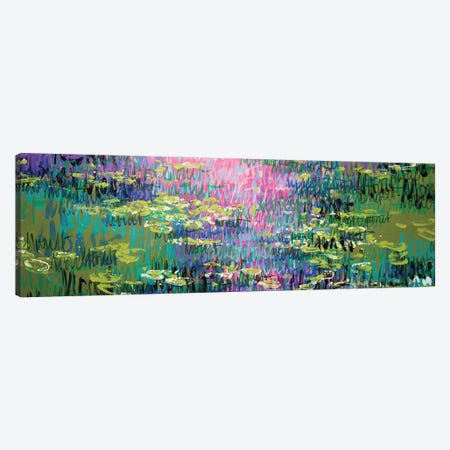 Giverny, Summer Canvas Print #WSL193} by Wayne Sleeth Canvas Artwork