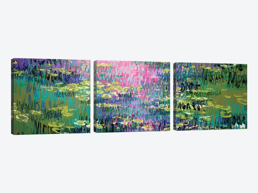 Giverny, Summer by Wayne Sleeth 3-piece Canvas Artwork