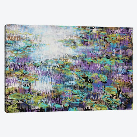 Waterlilies Graff, Giverny Canvas Print #WSL195} by Wayne Sleeth Art Print