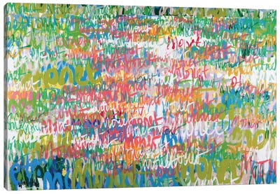 Monet Monet Monet Series: No. 23 Canvas Print #WSL20