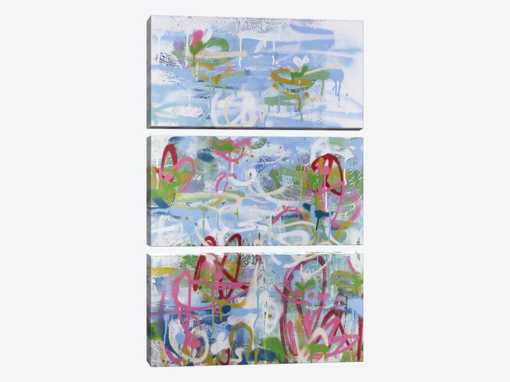 No. 27 by Wayne Sleeth 3-piece Canvas Print