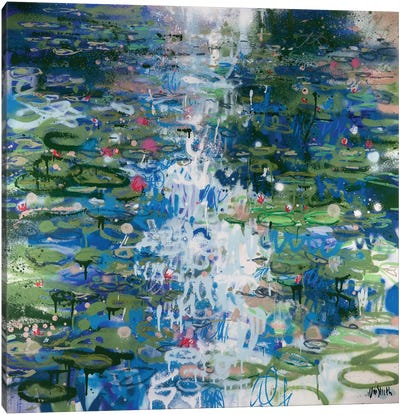 Monet Monet Monet Series: No. 33 Canvas Art Print