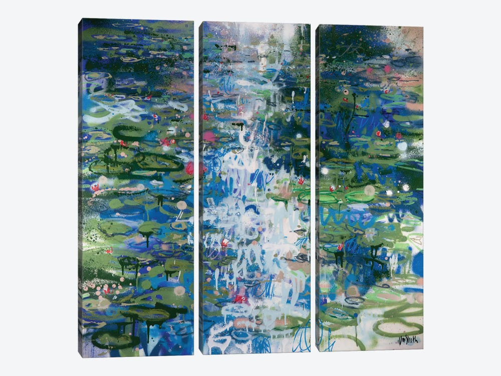 No. 33 by Wayne Sleeth 3-piece Canvas Art Print