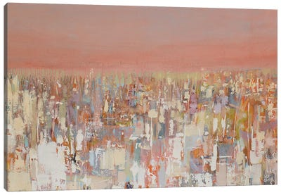 Urbanities Series: Cityscape Canvas Art Print