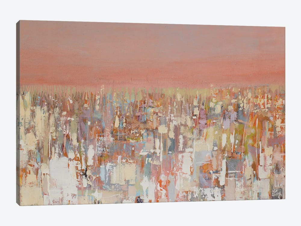Cityscape by Wayne Sleeth 1-piece Art Print