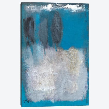 Composition In Azur Canvas Print #WSL52} by Wayne Sleeth Canvas Print