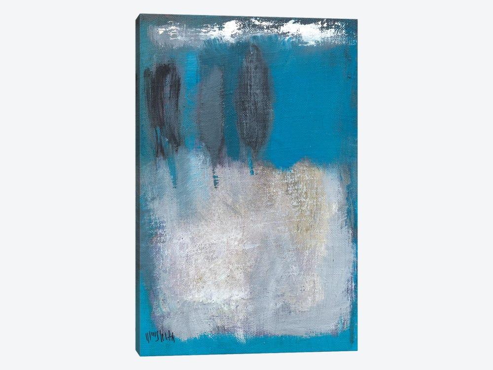 Composition In Azur by Wayne Sleeth 1-piece Art Print