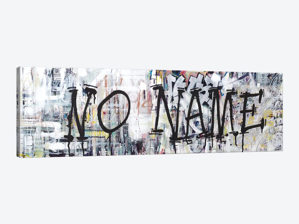 (Where The Streets Have) NO NAME by Wayne Sleeth 1-piece Canvas Print