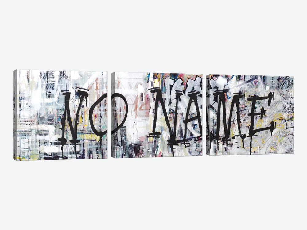 (Where The Streets Have) NO NAME by Wayne Sleeth 3-piece Canvas Print