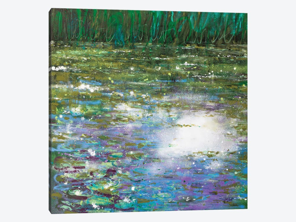 Monet Monet Monet No. 39 by Wayne Sleeth 1-piece Canvas Print