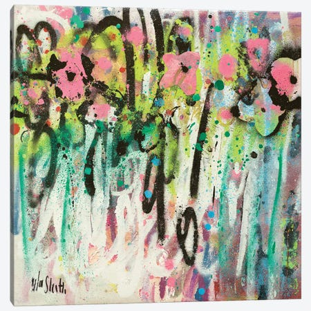 More Broken Flowers Canvas Print #WSL69} by Wayne Sleeth Canvas Art