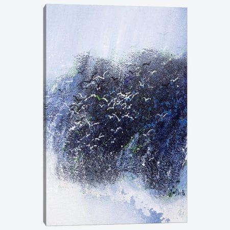 Breaker Canvas Print #WSL71} by Wayne Sleeth Canvas Art Print