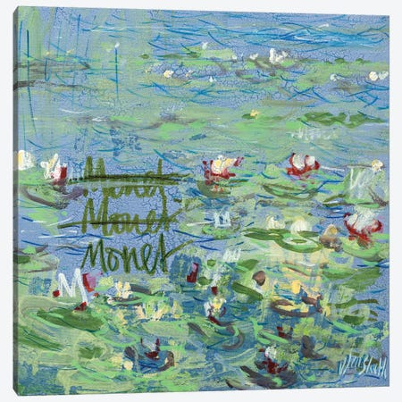 Monet Monet Monet No. 50 Canvas Print #WSL78} by Wayne Sleeth Canvas Print