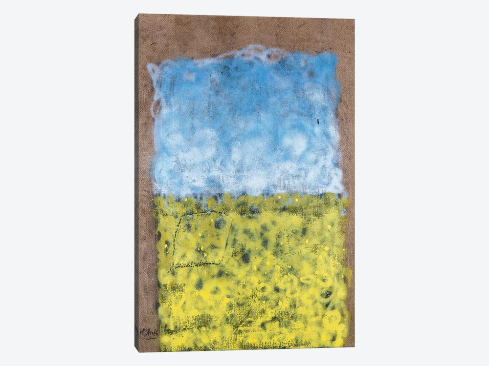 Colour Fields Series: A Field For Vincent 1-piece Canvas Art Print