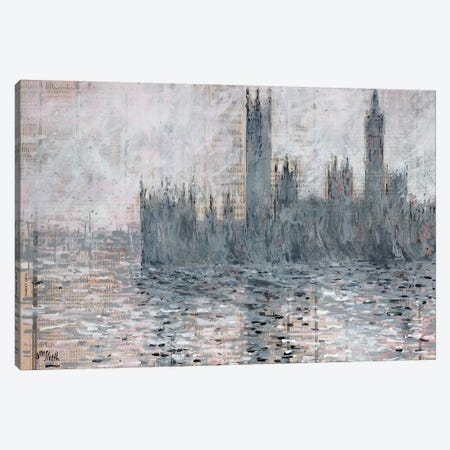 Westminster Gray Canvas Print #WSL82} by Wayne Sleeth Canvas Artwork