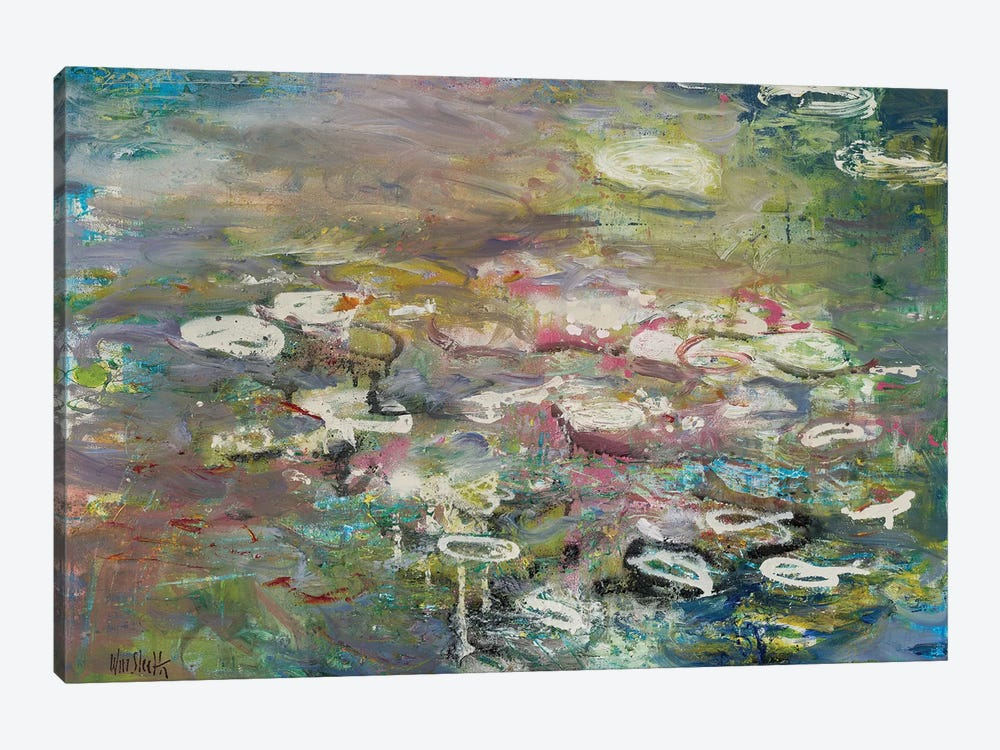 Monet Monet Monet No. 29 by Wayne Sleeth 1-piece Canvas Art