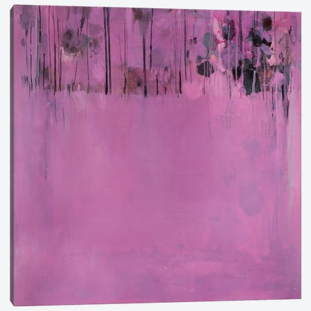 Composition In Pink Canvas Print #WSL9} by Wayne Sleeth Canvas Wall Art