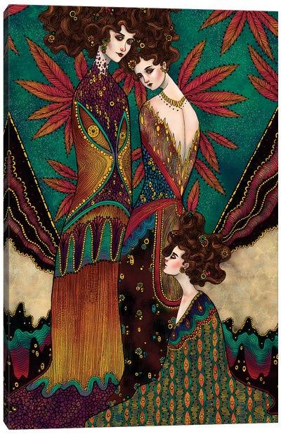 Klimt Muses I Canvas Art Print
