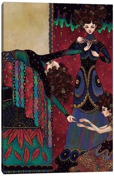 Klimt Muses II Canvas Art Print