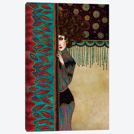 Klimt Muses III Canvas Print #WSM14} by Wassermoth Art Print