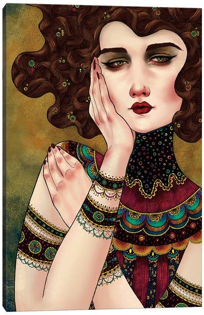 Klimt Muses IV Canvas Art Print