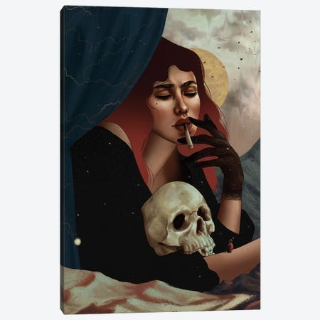 Lilith Canvas Print #WSM17} by Wassermoth Canvas Print