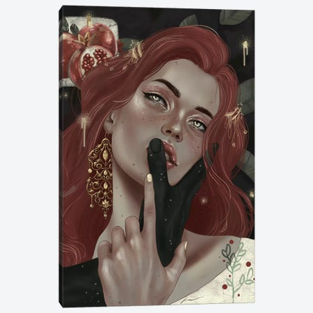 Persephone Canvas Print #WSM21} by Wassermoth Canvas Print