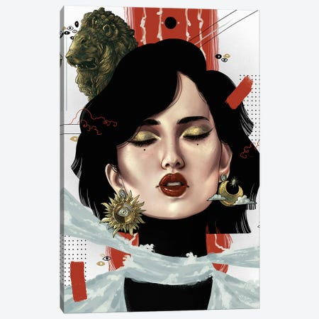 Rhea Canvas Print #WSM23} by Wassermoth Canvas Art Print