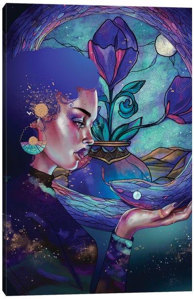 Zafiro Canvas Art Print