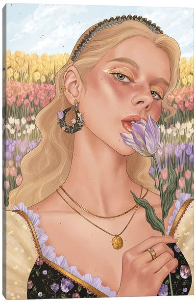 Tulip Canvas Art Print