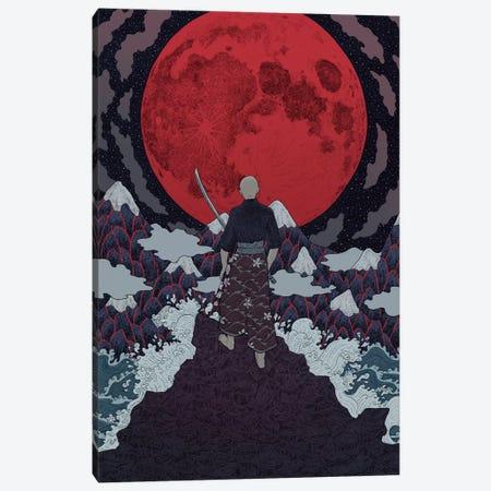 Bushido Canvas Print #WSM2} by Wassermoth Art Print