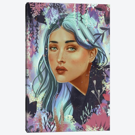 Vana Canvas Print #WSM34} by Wassermoth Canvas Art Print